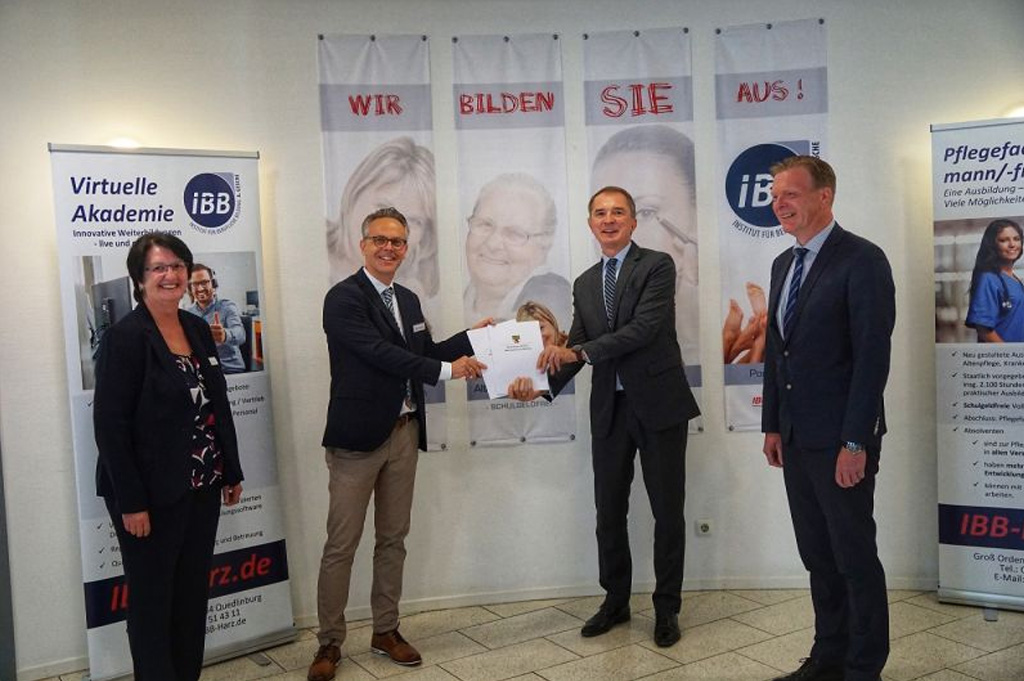 Bildungsminister Tullner besucht IBB in Quedlinburg!